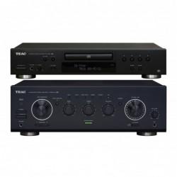 TEAC A-R650mkII + CD-P650